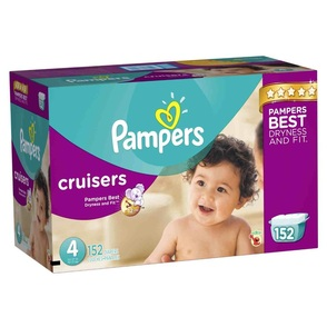 Discount Pampers Cruisers Diapers Economy Plus