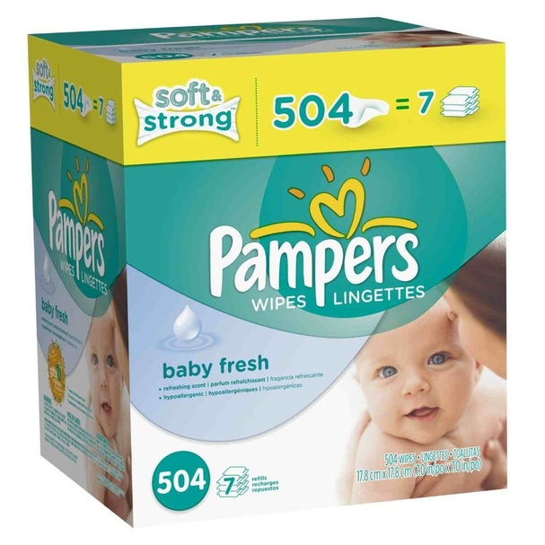 Discount Pampers Softcare Baby Fresh Wipes